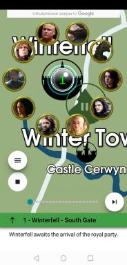 "Application du jour: la carte du monde mobile ""Game of Thrones"""